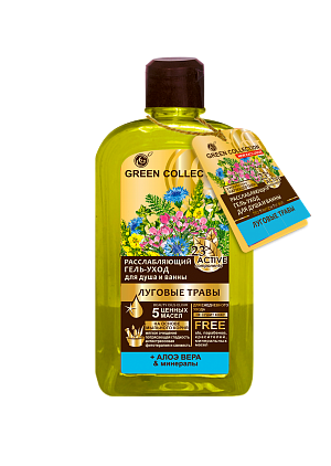 "RELAXING GEL-CARE FOR SHOWER AND BATH ""MEADOW HERBS"""