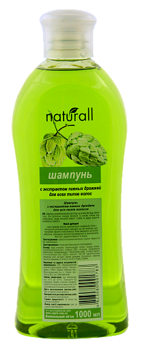 SHAMPOO with extract of brewer's yeast for all hair types