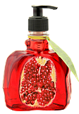 Gel-soap vitaminic with pomegranate extract