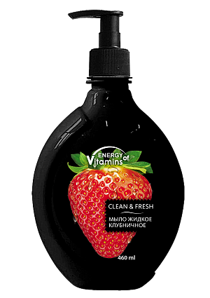 "Liquid soap ""Strawberry"""