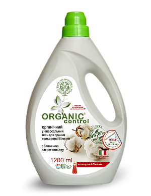 ORGANIC UNIVERSAL WASHING GEL FOR COLORED CLOTHES COLOR PROTECTION